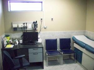 Tilbury Walk In Treatment Room