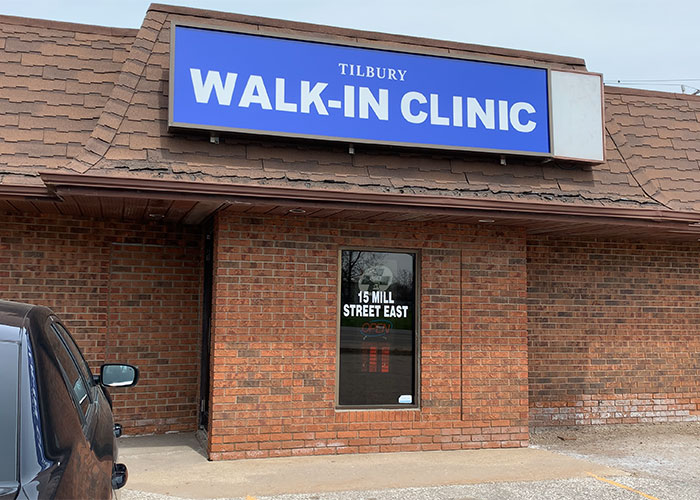 Tilbury Walk-In Clinic Storefront
